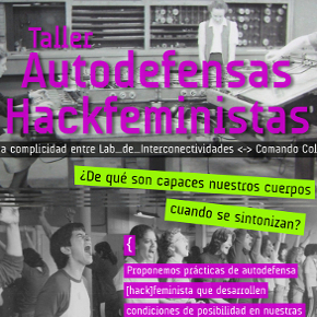 1era edición: Taller Autodefensas Hackfeministas en DF!
